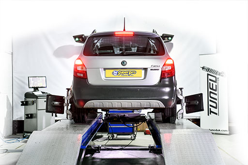 Wheel Alignment on Skoda Fabia