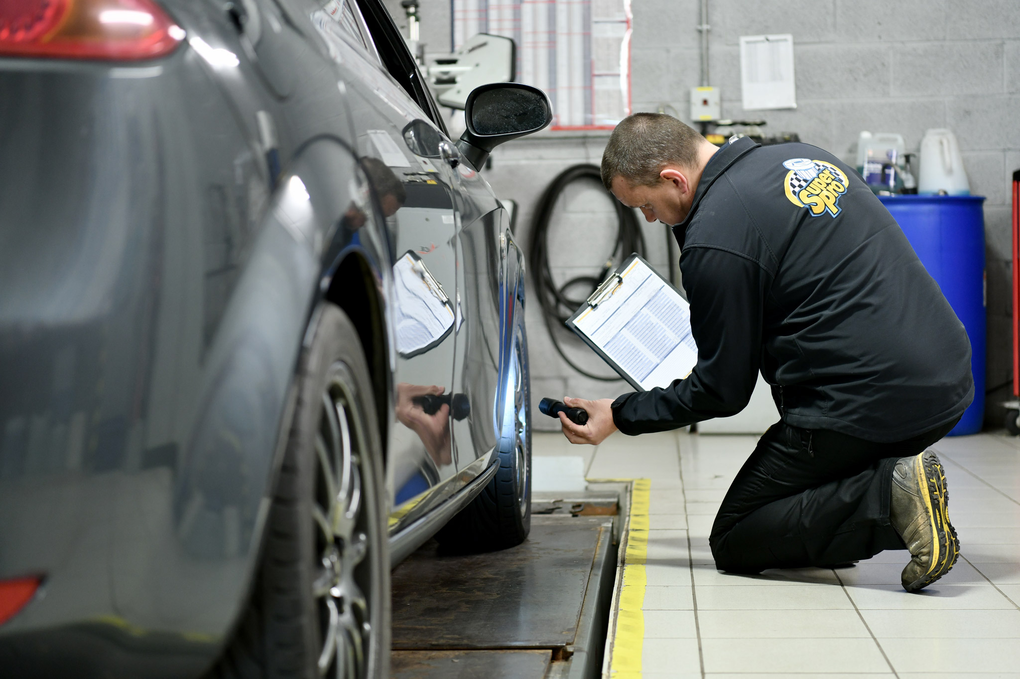 Correctly assessing the car's current condition is key to successfully transforming a car