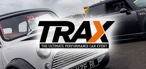 Trax Silverstone 2018 logo