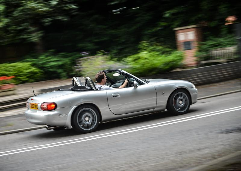Mazda MX-5 NA and NB adjustable anti-roll bars