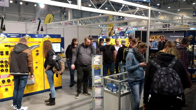 SuperPro at Essen Motorshow 2017 2-10 December 2017