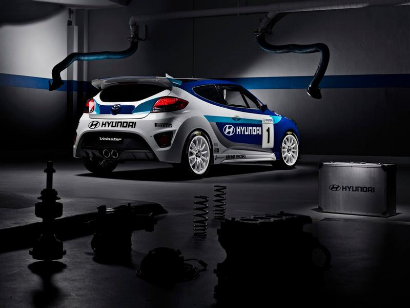 Hyundai Veloster Race Car an unusual gem from the archives
