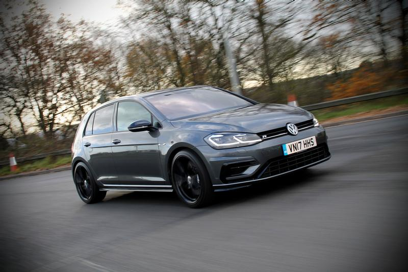 Can you improve the handling of a brand new Golf R Volkswagen Driver Mag finds out...