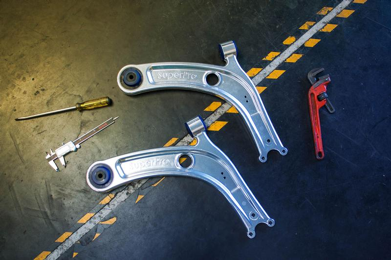 VAG Performance Alloy Arms Now available for all MQB vehicles