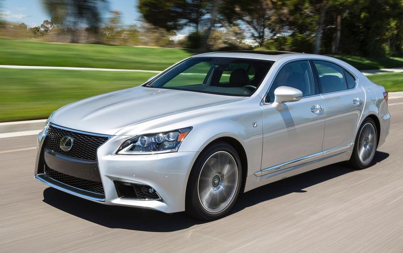 Lexus LS460 gets SuperPro handling upgrade