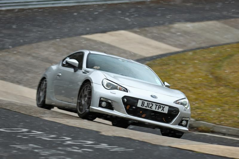 Toyota GT86 / BRZ Diff-to-Subframe Mount Kit controls excessive rear axle movement
