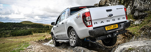 SuperPro's Ford Ranger Wildtrak in Wales